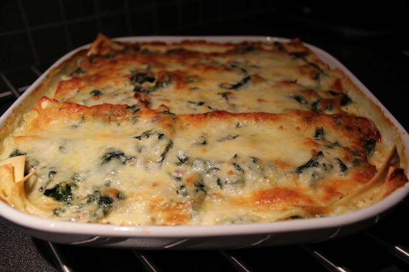 vegetarisk lasagne getost